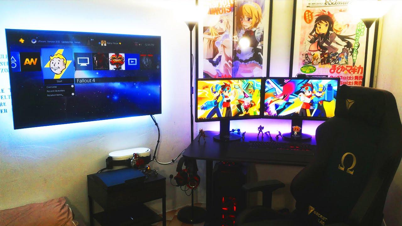 Anime Gamer Setup Setup Spotlight Youtube