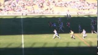 Brent Grose try saving tackle
