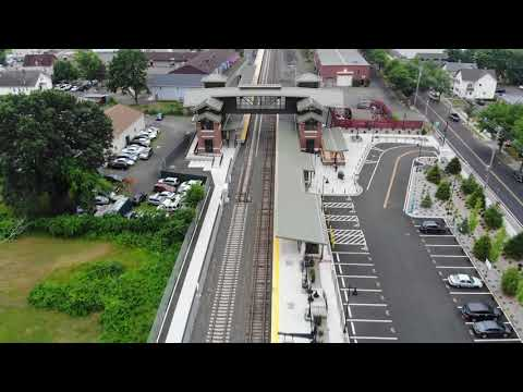 Aerial Footage Of Wallingford, CT