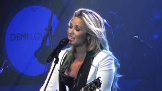 demi lovato catch me with adam lambert mention endfest sacramento 7 20 2012mts