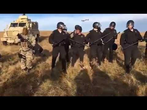 North Dakota turns violent as Police arrest Water Protectors
