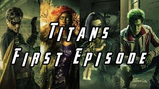 Teen Titans TV Show Episode 1 First Impressions And Review