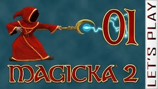 Magicka 2 #01 Multiplayer - Let's Play