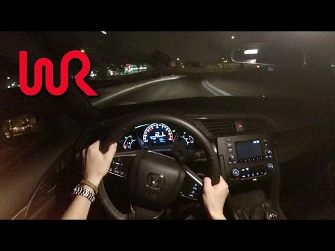 2017 Honda Civic Hatchback Sport (6MT) - WR TV POV Night Drive & Review