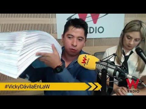 Pruebas de FRAUDE ELECTORAL / Más de 3000 folios / Vicky Dávila - La W