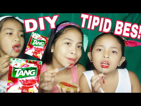 DIY LIPTINT USING TANG APPLE (LEGIT MGA BES TIPID PA)