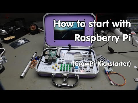#206 How to start with Raspberry Pi (Tutorial, Beginners, Makers, Python): CrowPi Kickstarter