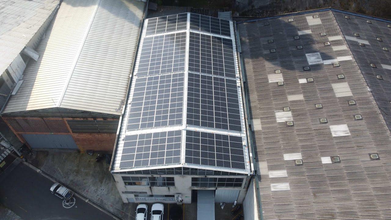 Proyecto de Energía Solar Empresa Industrias Plásticas ATH