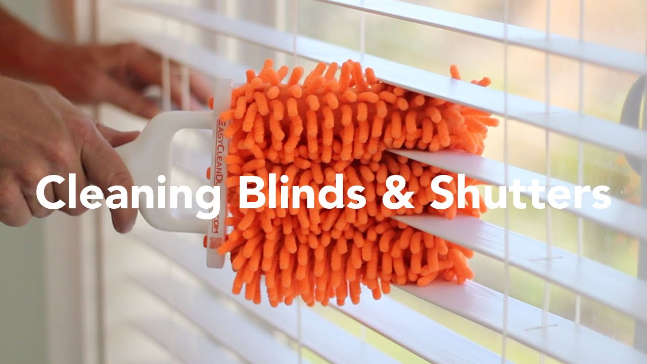 tips cleaning interior fast on window quick simple blinds