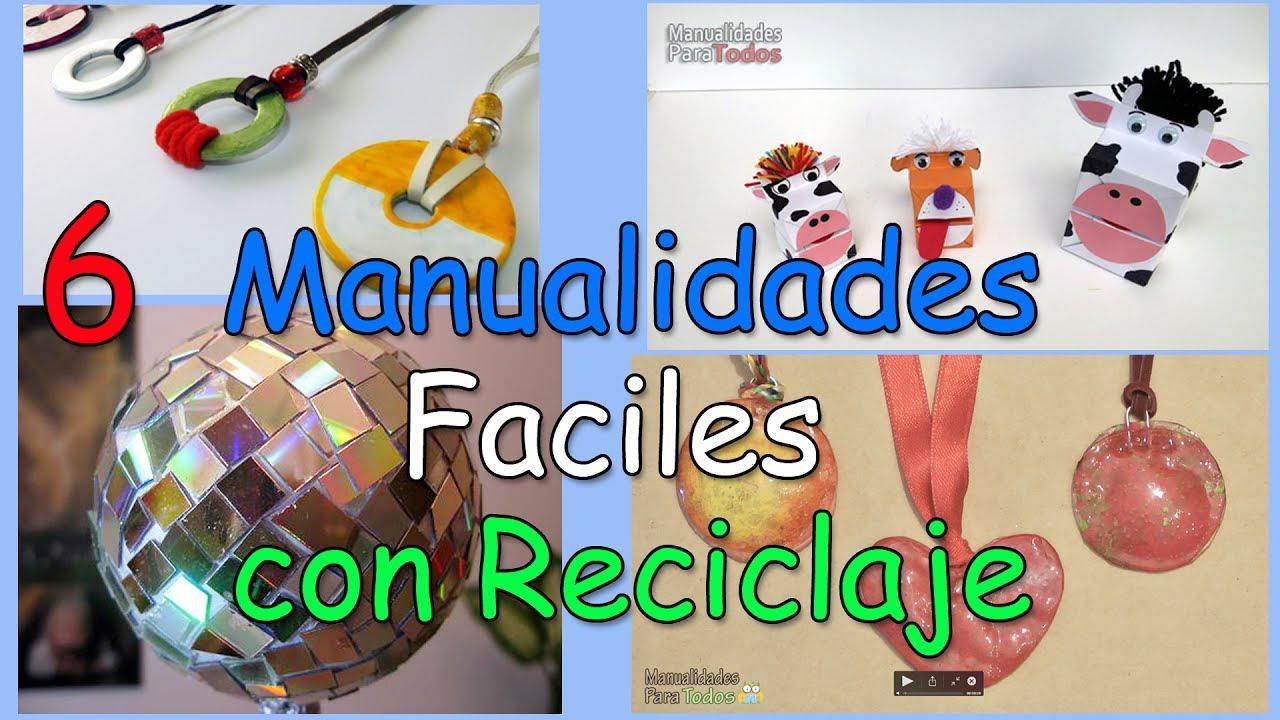 6 manualidades increibles y f ciles con reciclaje - Manualidades faciles reciclaje ...