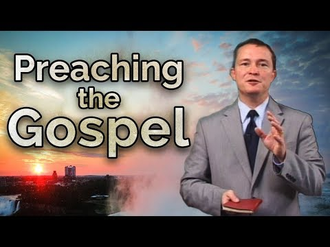 Preaching the Gospel - 845 - First Gospel Sermon