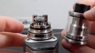 VCST by VAPERZ CLOUD - 316L FRAMED STAPLE + IMPRESSIONS
