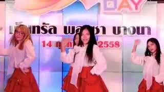 150214 Angeline cover Apink - LUV + Mr.Chu @ISUZU Cover Dance Contest