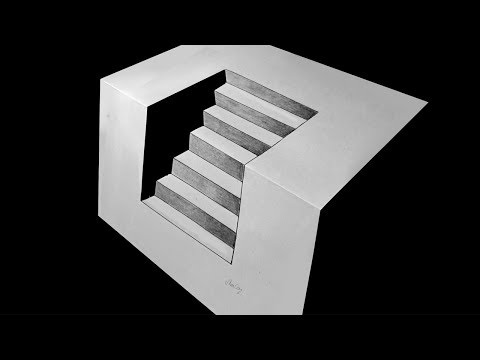 Basit 3D Merdiven Çizimi