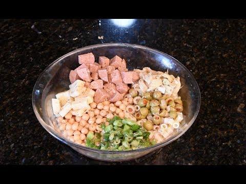 Chopped Italian Pasta Shaker Salad