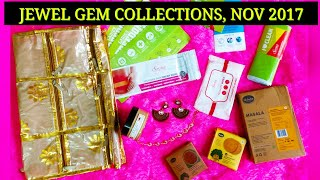 Jewel Gem Collections Nov 2017 | Make your own box | Lifestyle subscription @ 899