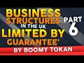 Business Structures in The UK  'Limited By Guarantee' -- Part 6 - Business Structure By Boomy Tokan