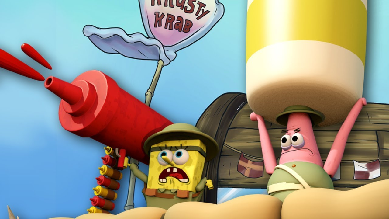 Download Spongebob Movie Animated! (Krusty Krab Siege Animation)