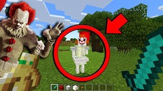 Do NOT SUMMON Pennywise the Clown in Minecraft Pocket Edition at 3:00 AM... (Pennywise in Minecraft)