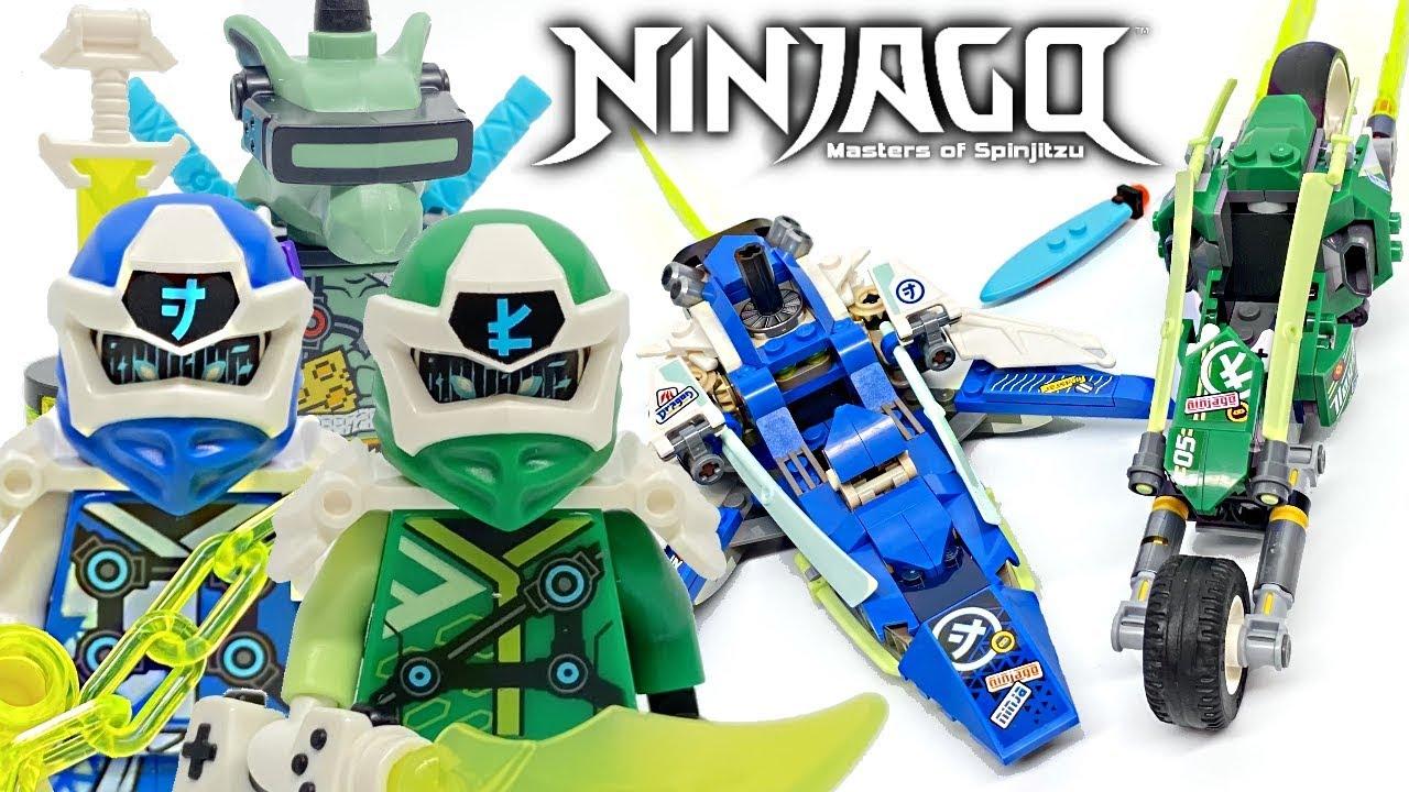 Download LEGO Ninjago Jay and Lloyd's Velocity Racers review! 2020 set 71709!