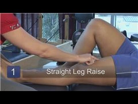 Knee Physical Therapy : Leg Lift Physical Therapy Exercises for Knees