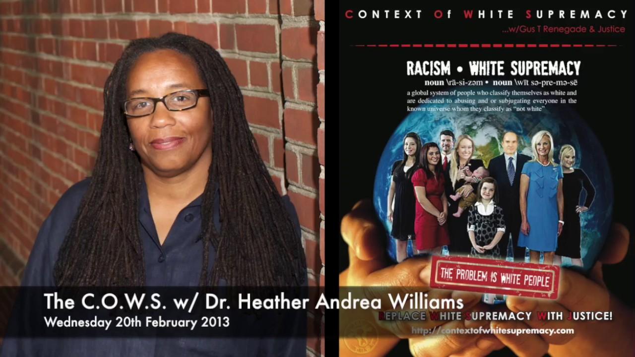 The C O W S w Dr Heather Andrea Williams