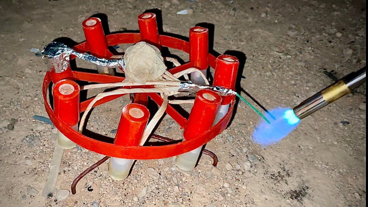 Lighting EPIC Fireworks in the Desert!