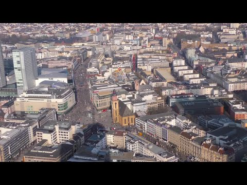 Frankfurt Germany Stock Video