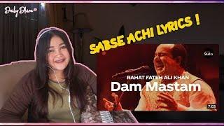 Indonesian girl reaction to Coke Studio Season 12 | Dam Mastam | Rahat Fateh Ali Khan