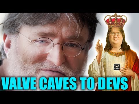 Valve Caves. Gives More Revenue To AAA Developers