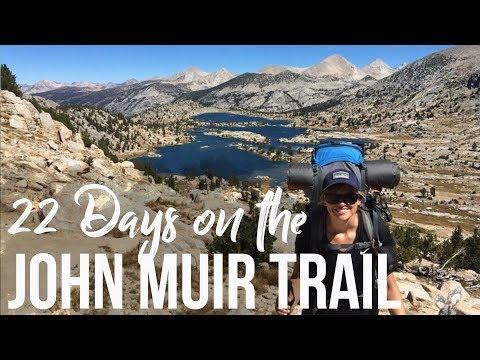 John Muir Trail Highlights - Backpacking Yosemite to Mt. Whitney //  Filmed with GoPro