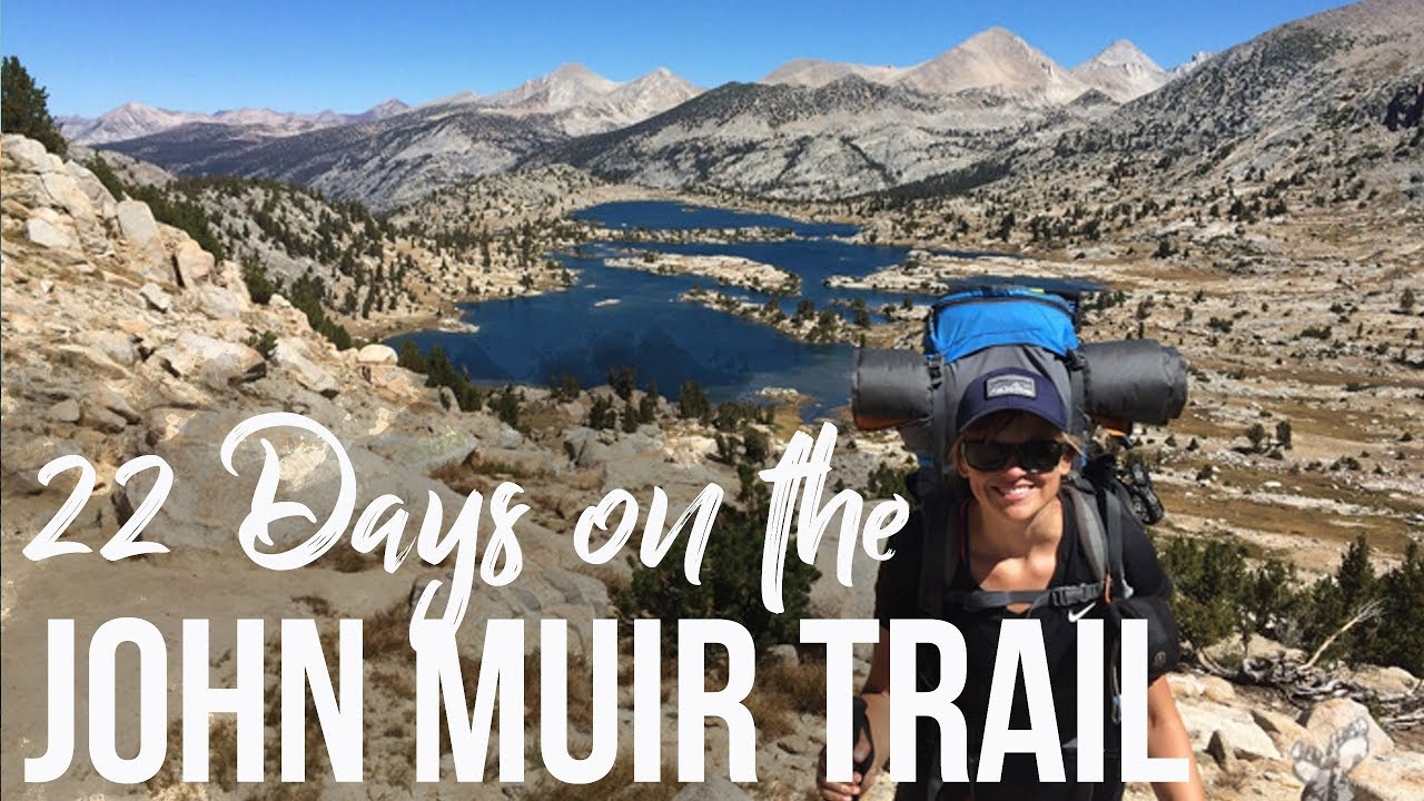 John Muir Trail Highlights  Backpacking Yosemite to Mt Whitney