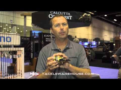 Shimano Calcutta Conquest Casting Reel With Robby Gant | ICAST 2014