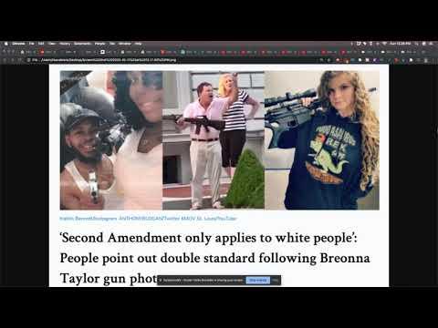 Second Amendment Double Standards