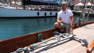 Andrew Cully - Captain of Eilean - introducing the classic yacht from 1936