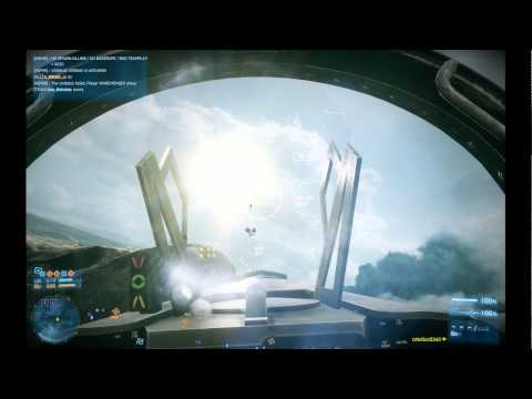Battlefield 3: IzNoGooD343 in jet @ Operation Firestorm #3