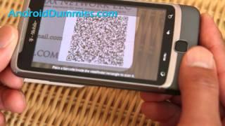 Wie zu Lesen QR-Code mit Ihrem Android-Handy/Tablette!