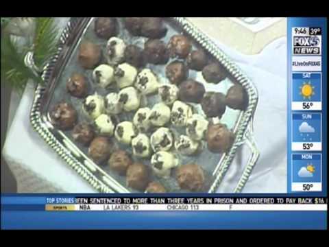 Eleven Courses Catering, Exec Chef Jim Benson, Fox 45 News - Hot Dessert Trends