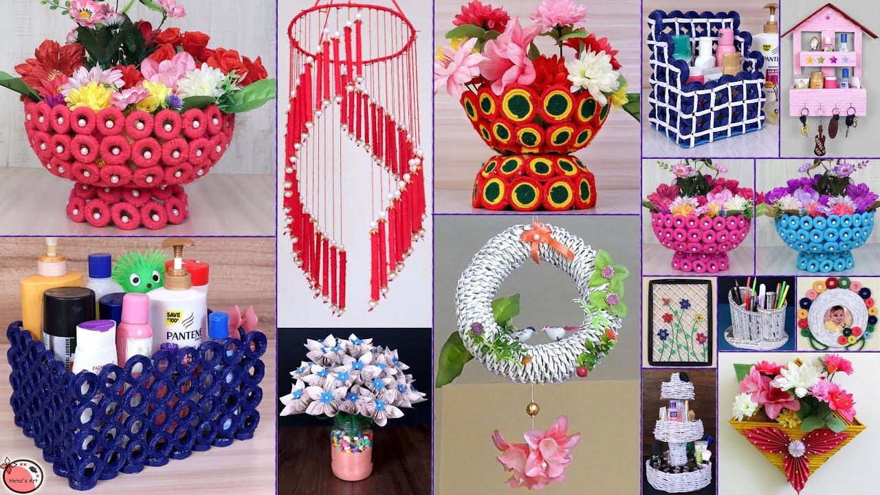 19 News Paper Craft Idea DIY Room Decor 2019 DIY