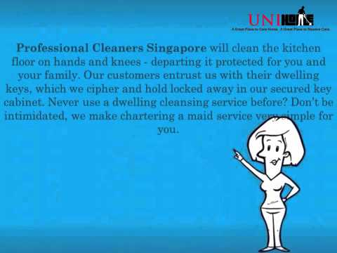 Professional Cleaners Singapore  Get the Cleaning Tasks Done With Immense Excellence!