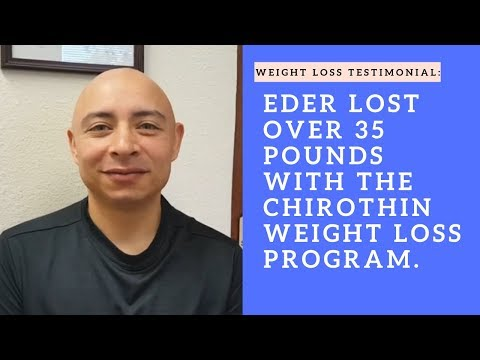 Eder lost over 35 pounds at the iChoose Wellness Center in San Mateo, 94404.