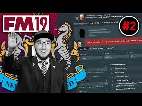 NEGOTIATIONS GONE WRONG! | FM19 NEWCASTLE CAREER MODE #2