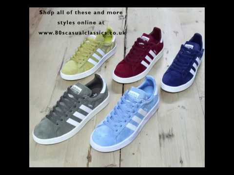 Adidas Campus Trainers Colours at 80s Casual Classics