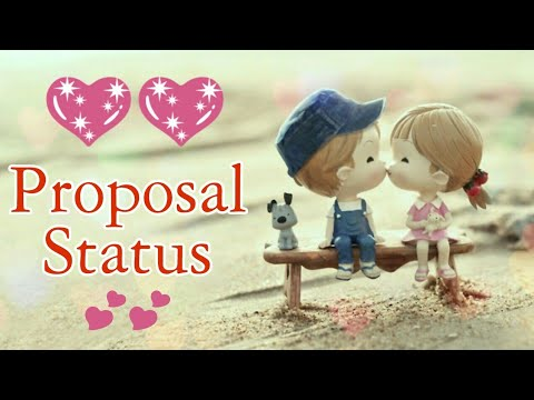 Best Proposal Status Whatsapp Video Youtube