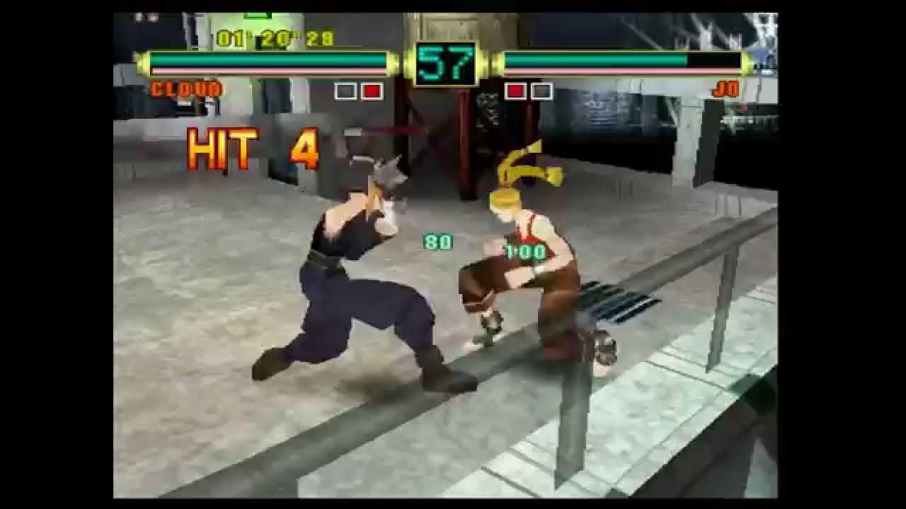 Ehrgeiz God Bless the Ring ... PS20 Gameplay