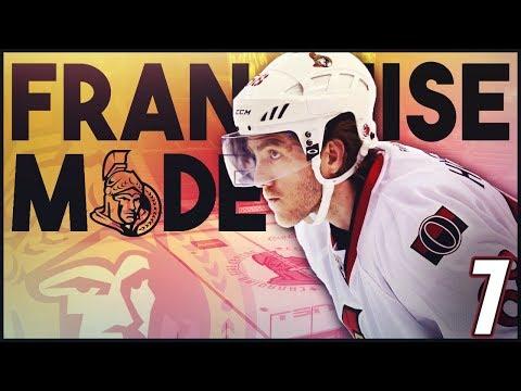 """NHL 18 - Ottawa Senators Franchise Mode #7 """"Log Jam"""""""