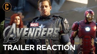 Marvel's Avengers Video Game Trailer Reaction & Review
