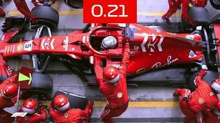 Ferrari's 1.97-Second Pit Stop | 2018 Brazilian Grand Prix