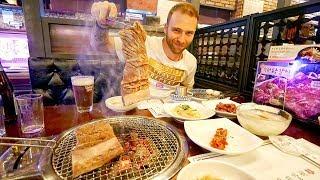 Trying GALBI Korean BBQ - Marinated Beef Ribs + Banchan | Seoul, South Korea