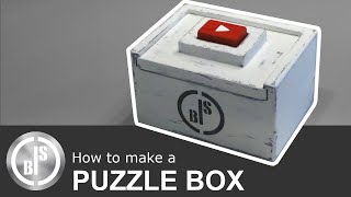 How to make a Puzzle Box / Puzzle Box selber bauen